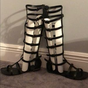 Schutz Cyby Tall Gladiator Sandals